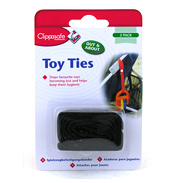 Clippasafe Toy Ties (ASSORTED COLOUR)