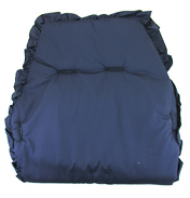 ABC Pushchair Seat Liner in Navy Blue
