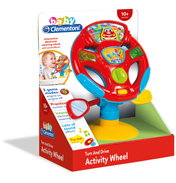 Baby Clementoni Activity Wheel Steering Wheel Toy