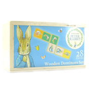 Beatrix Potter Wooden Dominoes Set (28 Pieces)