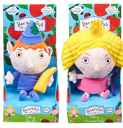 Ben & Holly 7 Inch Talking Plush Assorted