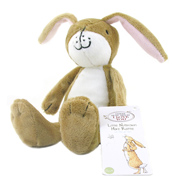Guess How Much I Love You Hare Soft Toy RATTLE