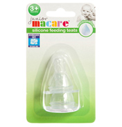 Junior Macare Natural Feed Silicone Teats 6…