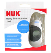 NUK 2 in 1 Baby Thermometer